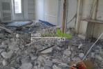 Gravats après la démolition