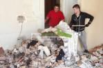Travaux de démolition par l'entreprise George-ATA